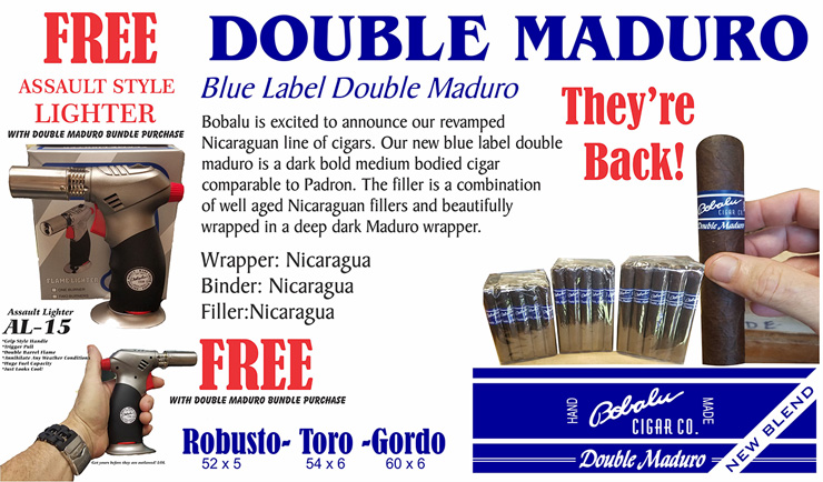 FREE AL-15 with Double Maduro Cigars!